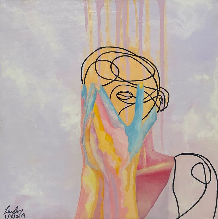 Mind Captive - Laila Art