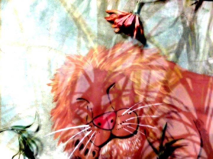Sleeping Lion - Michael Ard
