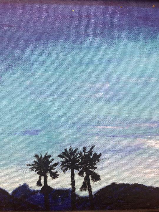 Twilight in Palm Springs - John Potter