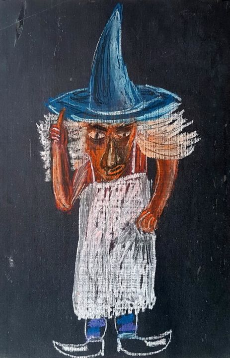 Witch at home - Marion Saliba
