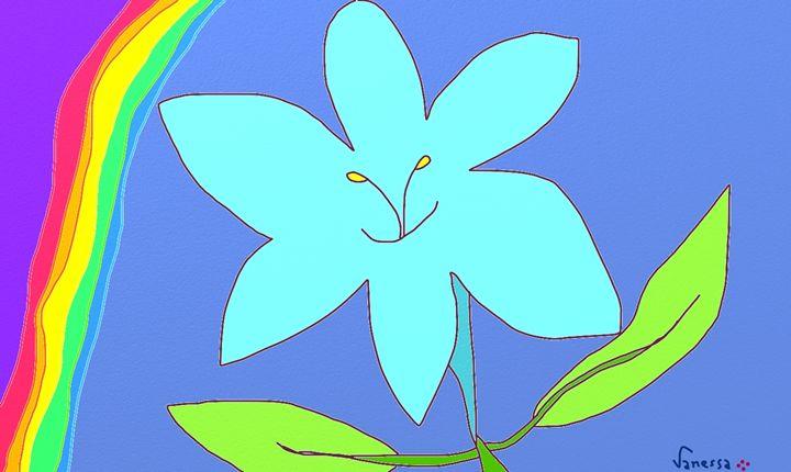 Greetings from my flower - Vanessa Schlachtaub Bruni