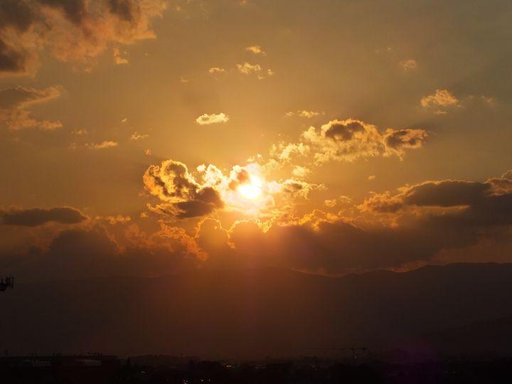 Sunset 9 July 2015 (St. Veronica) - Vanessa Schlachtaub Bruni