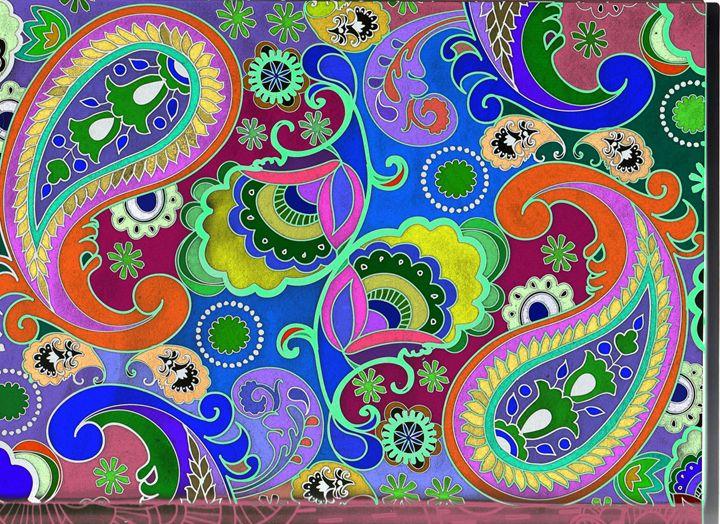 Mandala - arabesque mirror style - Vanessa Schlachtaub Bruni