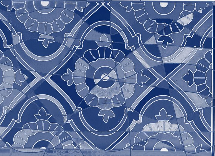 Ancient mystery puzzle blue version - Vanessa Schlachtaub Bruni