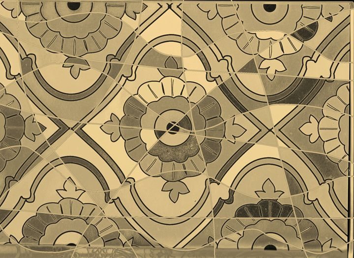 Ancient mystery puzzle sepia version - Vanessa Schlachtaub Bruni