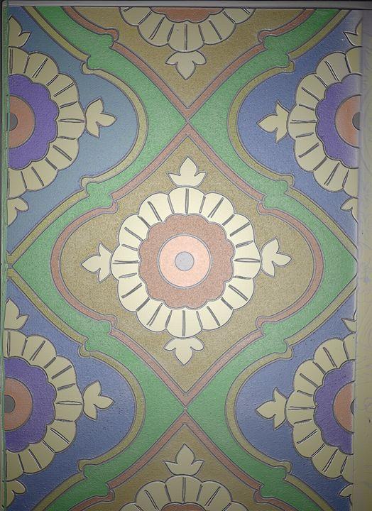 Mandala 4 Colors, vertical version - Vanessa Schlachtaub Bruni