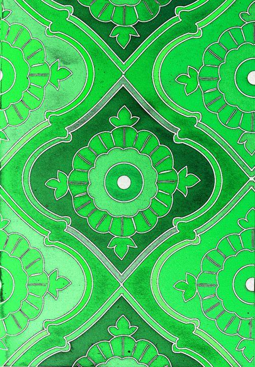 Jade and Emerald - Vanessa Schlachtaub Bruni