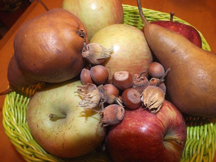 Pears, Apples and Hazelnuts - Vanessa Schlachtaub Bruni