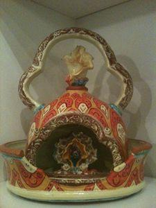 Shrine teapot by Donna Rozman