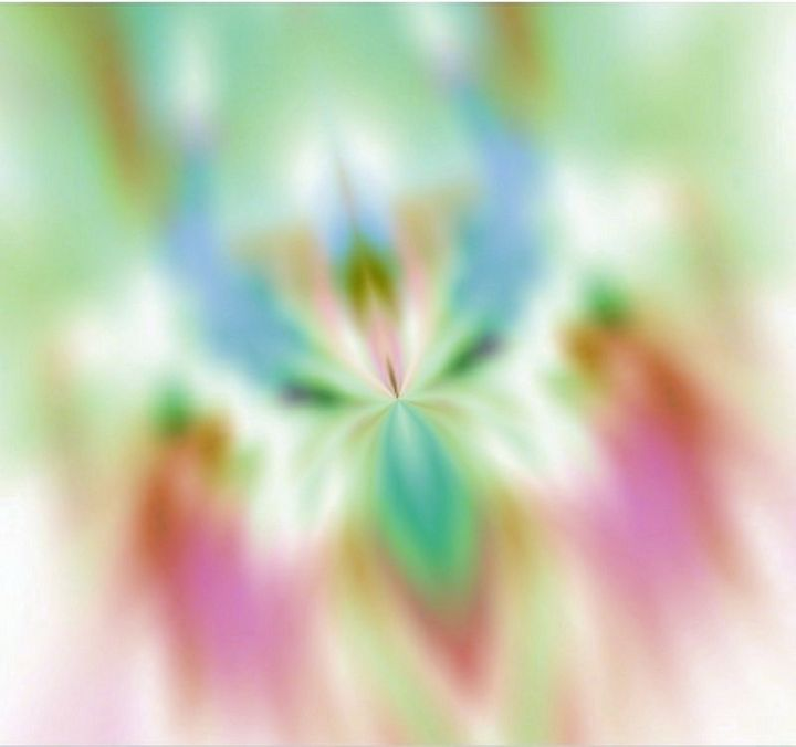 Abstract Pastel Butterfly-3 - M.Y.Hauger