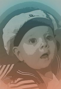 Baby Isaac Popart