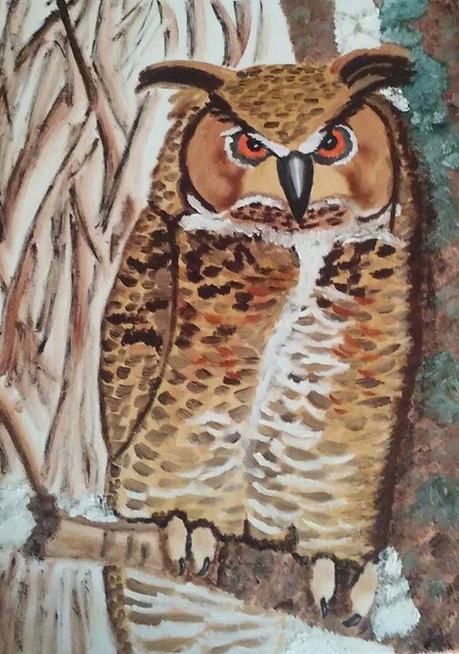 Owl - M.Y.Hauger