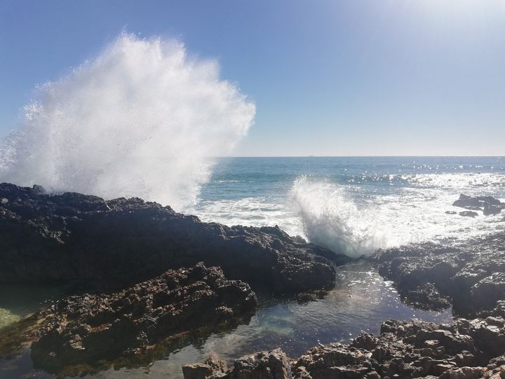 Wave splash - Pontsho