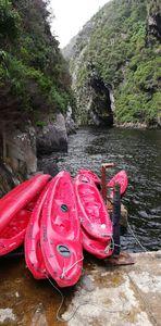 Canoeing, at Tsitsikamma