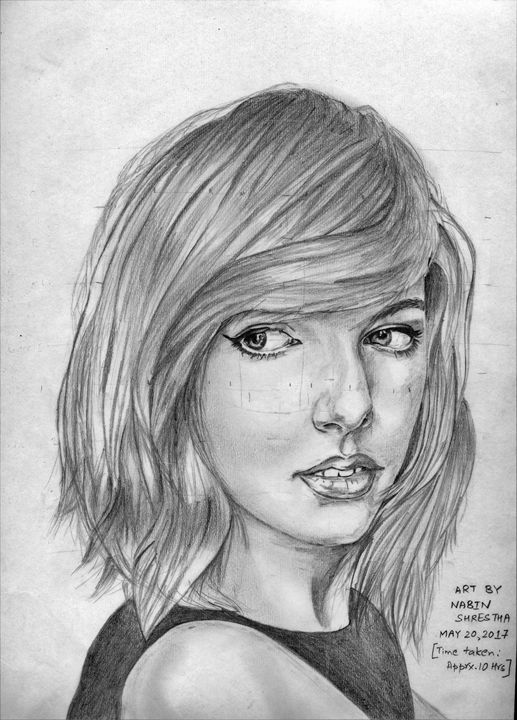 Taylor Swift - Nabin Shrestha