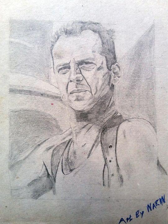 Bruce Willis - Nabin Shrestha