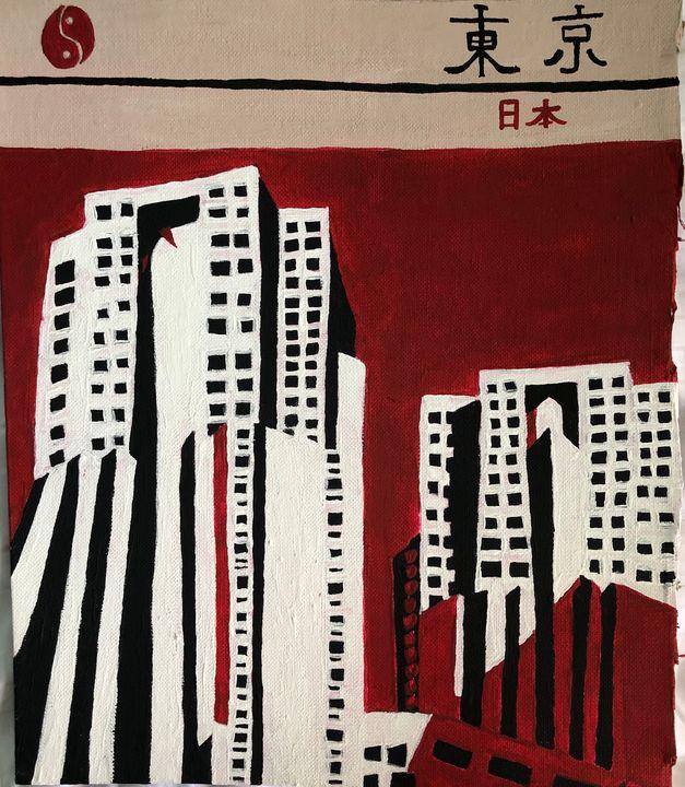 The City of Tokyo - Amelia Herron
