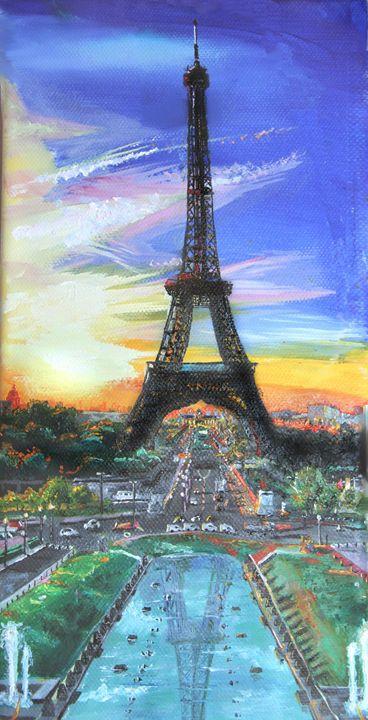 Eiffel Tower - wearedow
