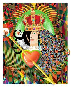Queen of Hearts - Sandy Fox