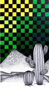 monochromatic cactus