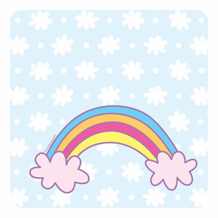 """""""Baby Blue Rainbow"""" - Ivana Decuzzi DG"""