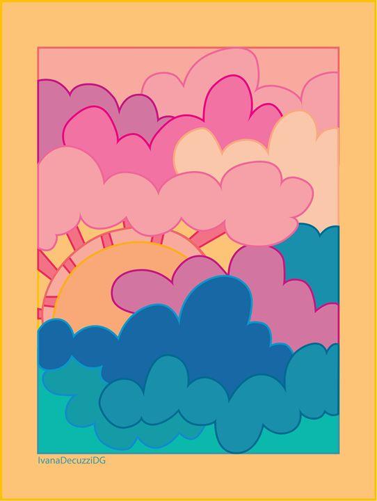 """Pink Clouds"" - Ivana Decuzzi DG"