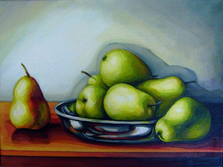 """""""Pears"""" - Art Margarita Souleiman"""