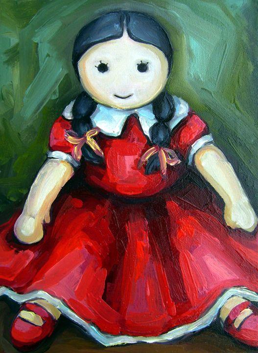 The doll - Art Margarita Souleiman