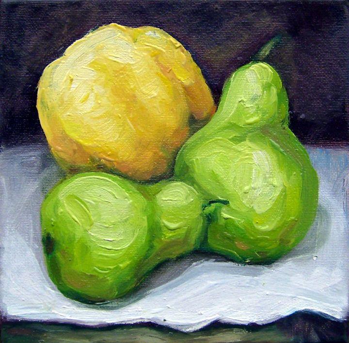 Fruits - Art Margarita Souleiman
