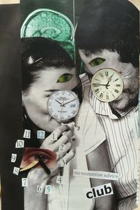 time; collage