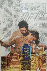 cityscape; collage