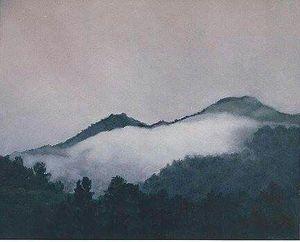 Smokey Mountains in Georgia, USA