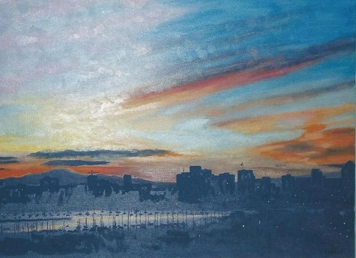 Sunrise over San Diego - Terry Forrest Fine Art