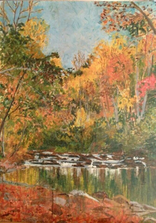 Conasauga Creek, Tennessee, USA - Terry Forrest Fine Art