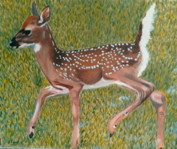 The Fawn - Terry Forrest Fine Art