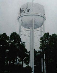City of Jesup Water Tank, Georgia