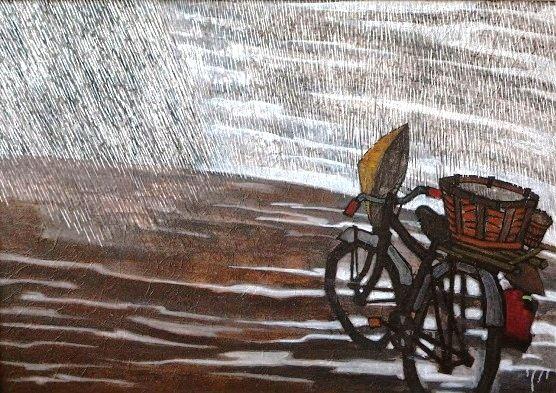 Under rain - Le Tuan