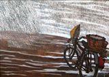 Under Rain- Original Painting