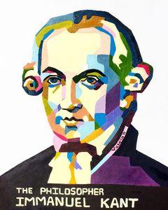 Immanuel Kant Popart