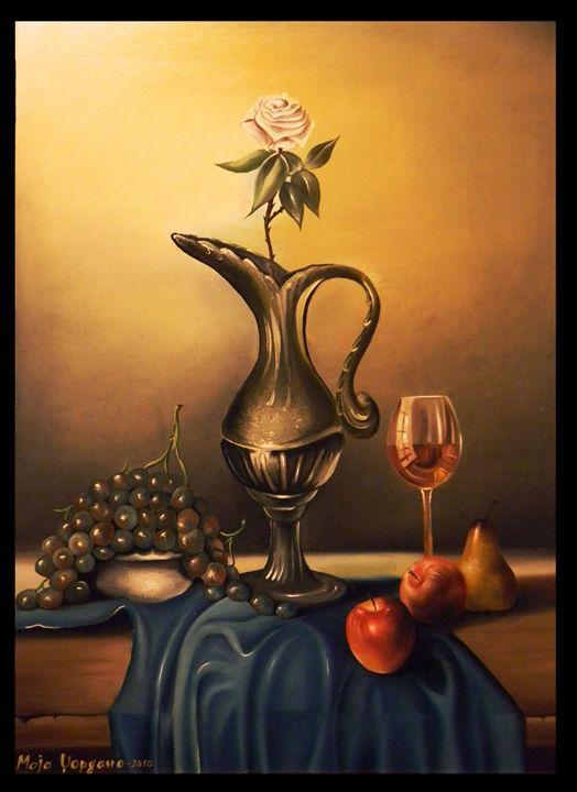 the last glass of wine - Maja Dzordano