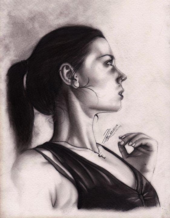 Magui Sunshine Portrait - MosregArt