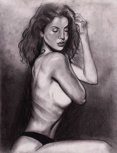 Rachel Johnson Figure Drawing