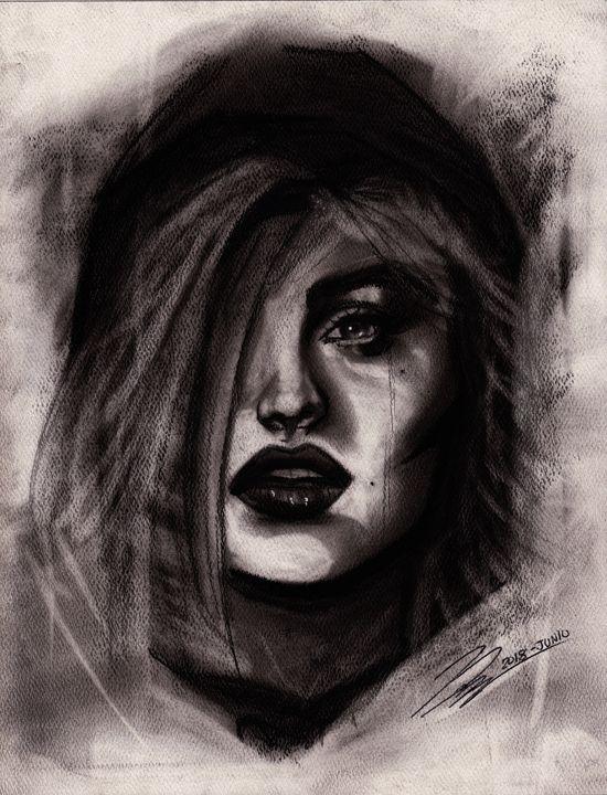Lady under the Rain - MosregArt