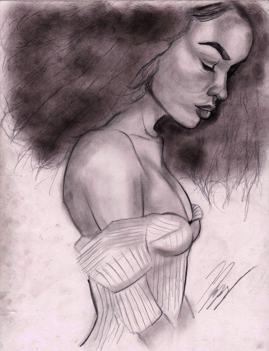 Lady Sketch - MosregArt