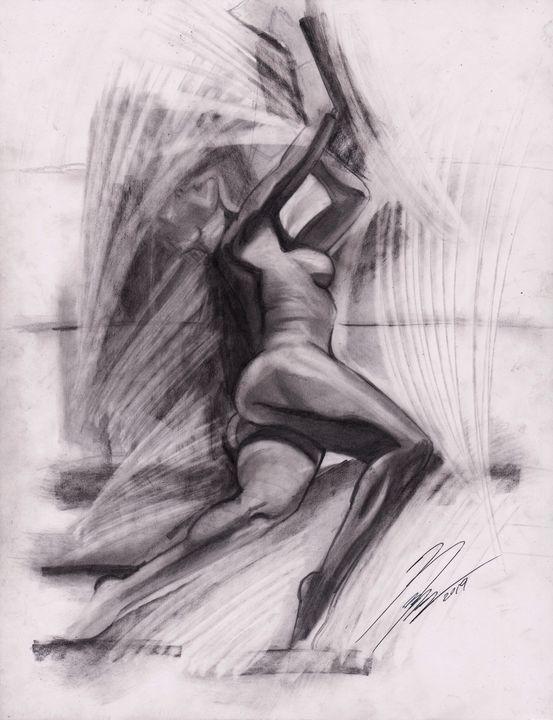 Shadows on sofa - MosregArt