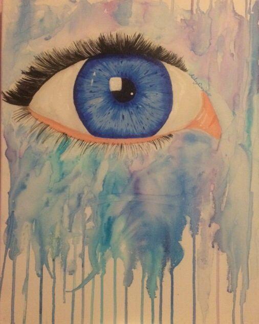 Colourful Eye - Ashley Campbell Art