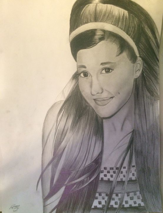 Ariana grande - Ashley Campbell Art