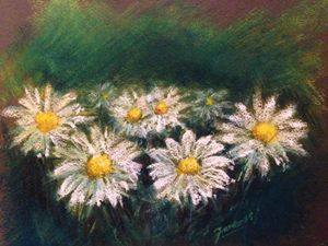 PAstel On paper Painting