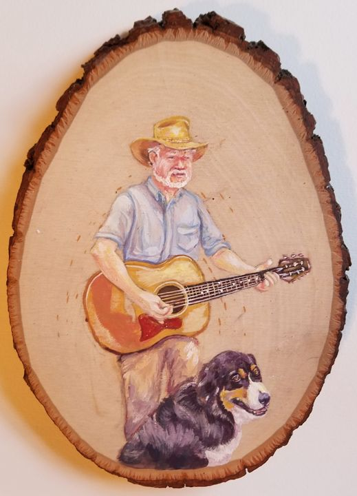A Bard and His Dog - Prints from Creation Creatures