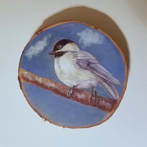 Chickadee - Prints from Creation Creatures